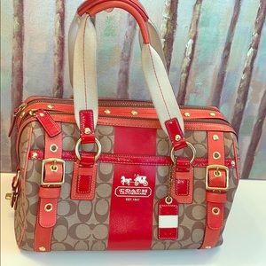 Huge Beautiful Coach Purse/Bag (free shipping)